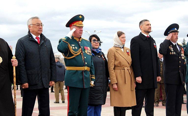 Баир Жамсуев принял участие впраздничных мероприятиях вДень Победы вЗабайкальском крае