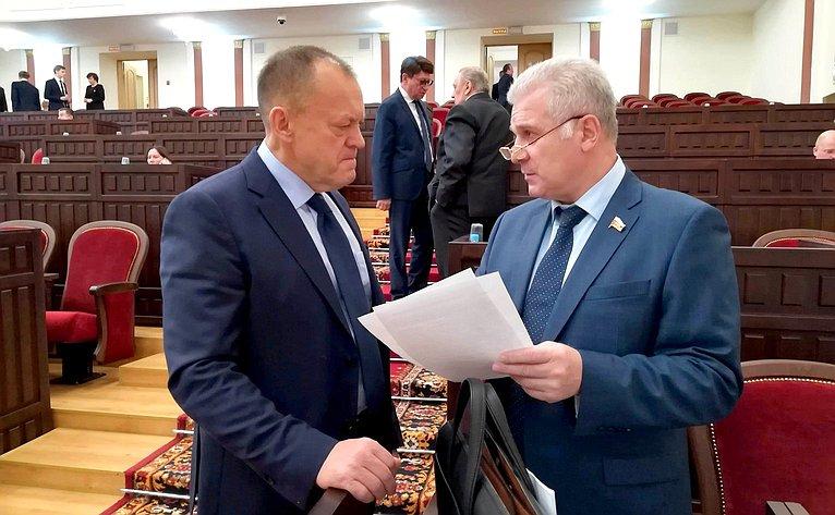Сергей Мартынов принял участие вбюджетной сессии Госсобрания Республики Марий Эл