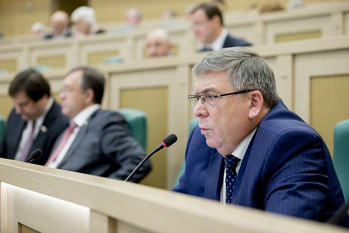 379-е заседание Совета Федерации Рязанский