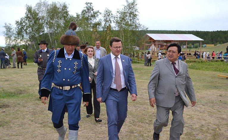 Дмитрий Азаров иАлександр Акимов вРеспублике Саха (Якутия)