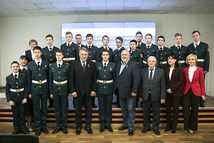 Юрий Воробьев вВологодской области