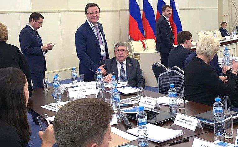 Расширенное заседание президиума Государственного совета вКалининградской области
