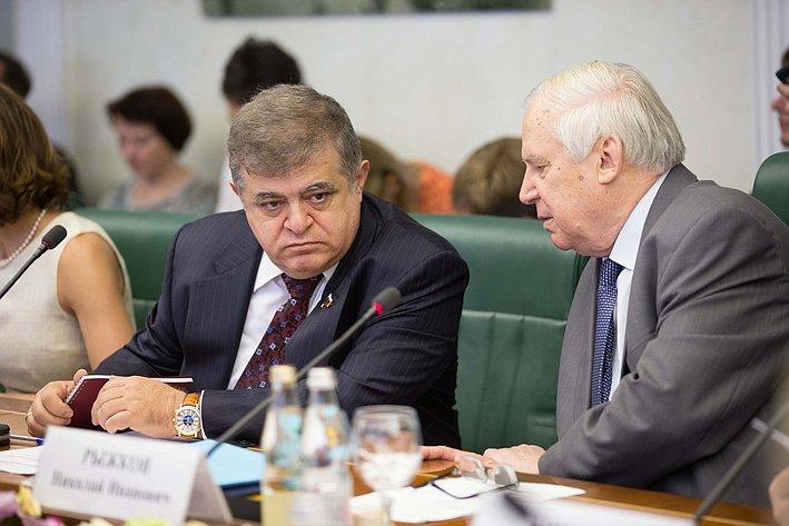 Комиссия по помощи Юго-Востоку Украины-1 Джабаров и Рыжков