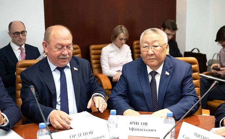 Геннадий Орденов иЕгор Борисов
