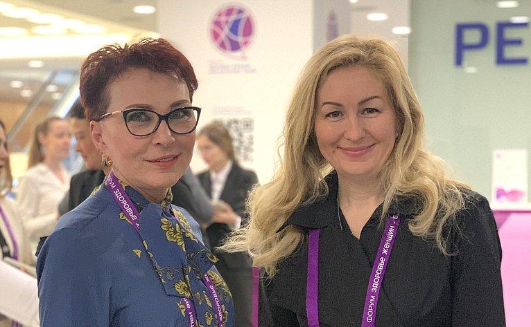 Татьяна Кусайко приняла участие вфоруме «Здоровье женщин— благополучие нации»