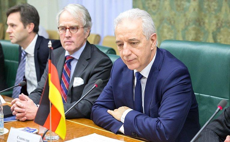 Премьер-министр Федеральной земли Саксония, председатель группы дружбы Бундесрата ФРГ сСоветом Федерации Станислав Тиллих