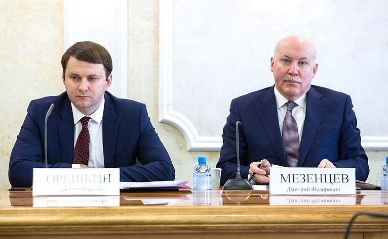 М. Орешкин иД. Мезенцев