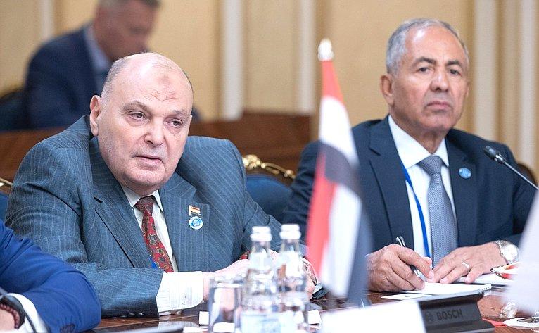 Встреча В. Матвиенко сПредседателем Палаты депутатов Арабской Республики Египет Али Абдель Алемом