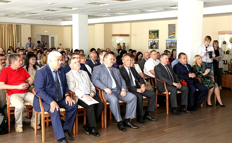 Олег Мельниченко принял участие взаседании коллегии Комитета поделам архивов Пензенской области