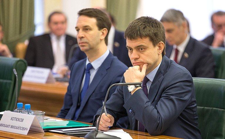 Заседание Совета повопросам интеллектуальной собственности при СФ