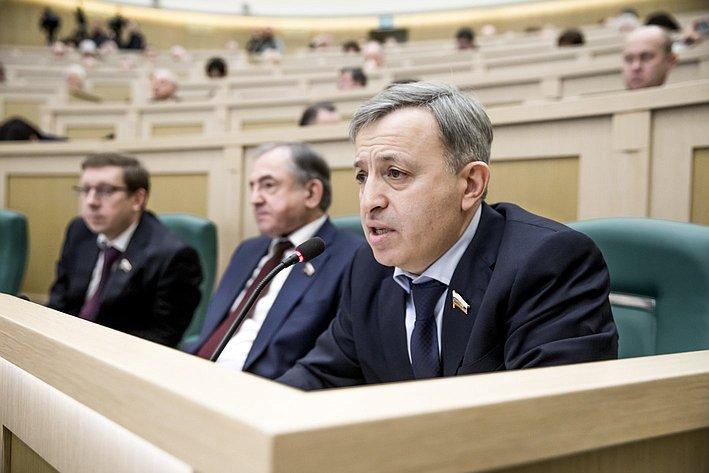 366-е заседание Совета Федерации Ульбашев