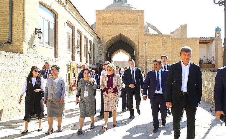 Официальный визит делегации Совета Федерации вРеспублику Узбекистан