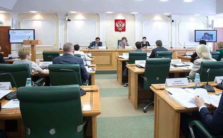 ВСовете Федерации проходят парламентские слушания натему «Обособенностях законодательного регулирования обеспечения доступности медицинской помощи населению, проживающему врайонах Крайнего Севера иприравненных кним местностях»