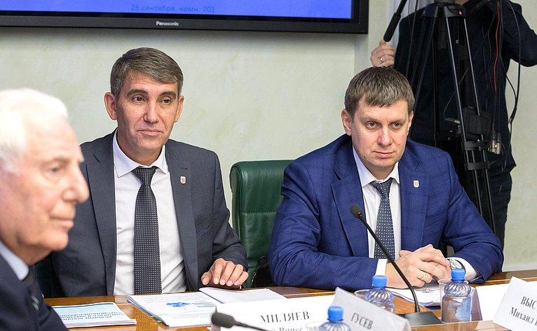 Заседание Комитета СФ поаграрно-продовольственной политике иприродопользованию натему «Развитие агропромышленного комплекса иобеспечение рационального природопользования вТульской области»