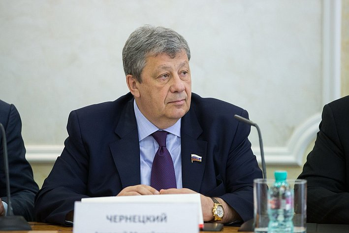 Заседание Совета по вопросам жилищного строительства и содействия развитию жилищно-коммунального комплекса Чернецкий