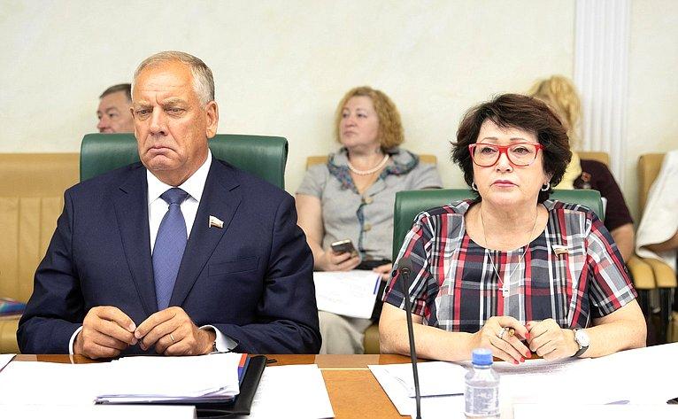С. Митин иЛ. Талабаева