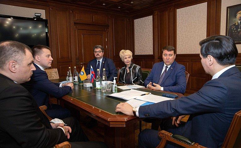 Выездное совещание комитетов СФ натему «Оходе реализации индивидуальной программы социально-экономического развития Республики Калмыкия»