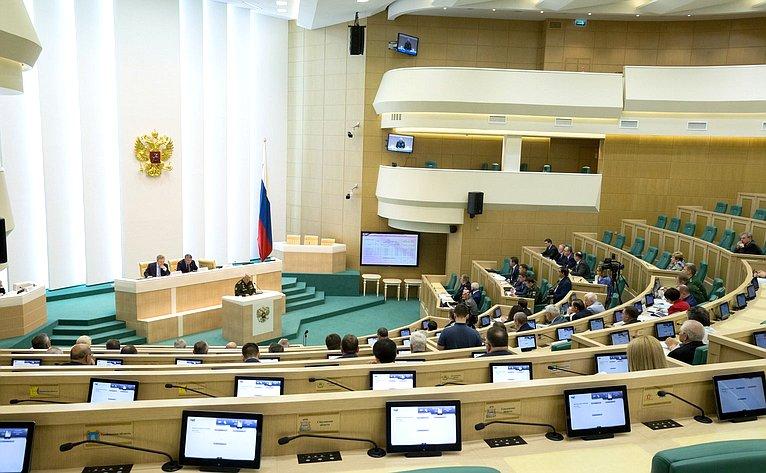 Проходит заседание Совета натему «Социальное обеспечение участников боевых действий ивооруженных конфликтов: состояние, проблемы, правовое регулирование»