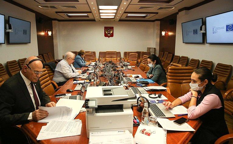 Участие сенаторов РФ взаседании четвертой части ежегодной сессии ПАСЕ
