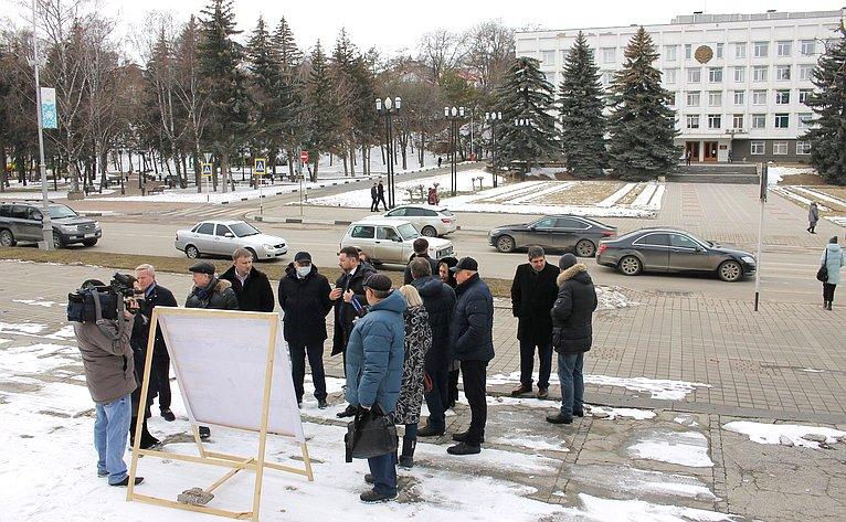 Анатолий Артамонов ознакомился сходом строительства объектов социальной инфраструктуры города-курорта Кисловодска
