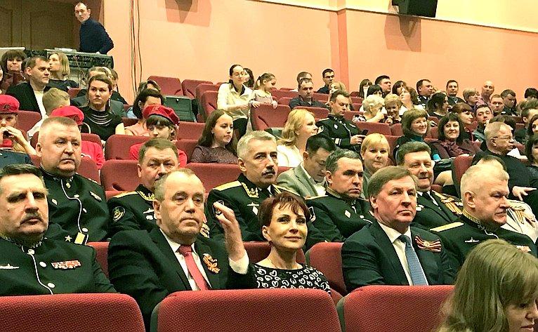 Т. Кусайко приняла участие вторжественных мероприятиях вСевероморске, посвящённых 73-й годовщине Великой Победы