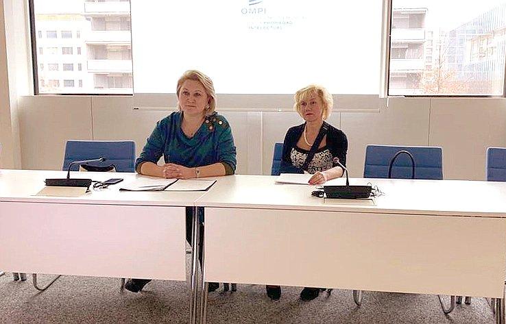 Л. Гумерова обсудила спредставителями ВОИС вопросы охраны ипродвижения региональных брендов