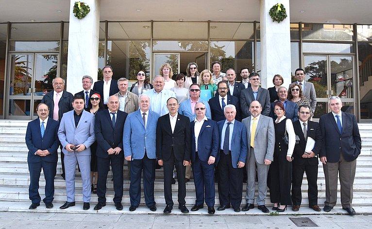 Сергей Попов принял участите вочередном заседании Секретариата М.А.П