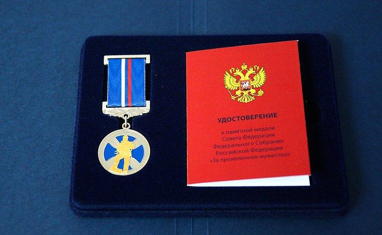 Председатель СФ представила журналистам новую награду, которую вручат детям-героям намероприятии вформате видеомоста сСоветом Федерации