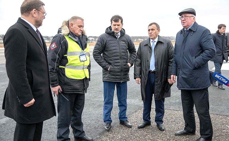 К.Косачев посетил Марий Эл срабочим визитом