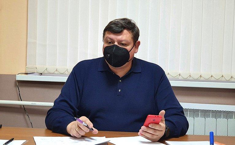 Сергей Колбин провел вдистанционном режиме прием жителей Севастополя