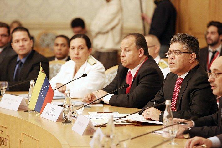 Александр Торшин принял участие в пленарном  заседании  Межправительственной Российско-Венесуэльской комиссии 3