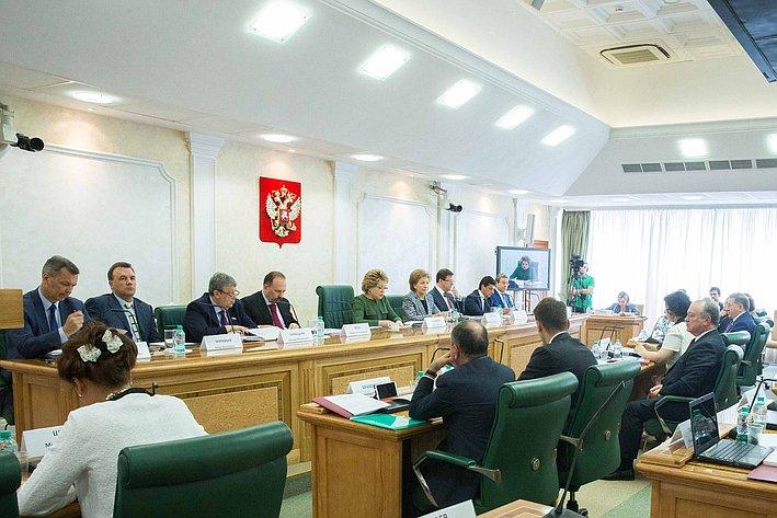 Заседание Совета по вопросам жилищного строительства и содействия развитию жилищно-коммунального комплекса