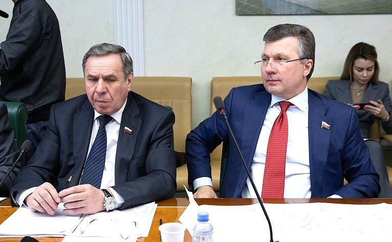 Вячеслав Наговицын иВалерий Васильев