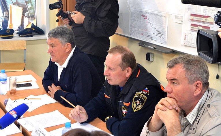 Юрий Воробьев провел рабочее совещание вЦентре образования, оздоровления детей иразвития туризма «Корабелы Прионежья»
