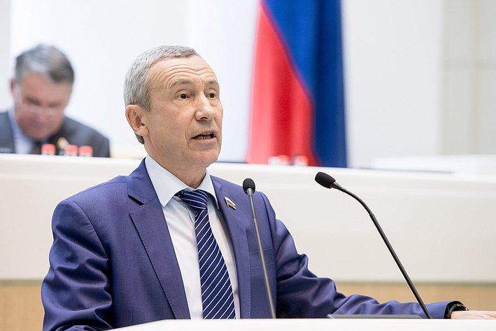 Климов 380-е заседание Совета Федерации
