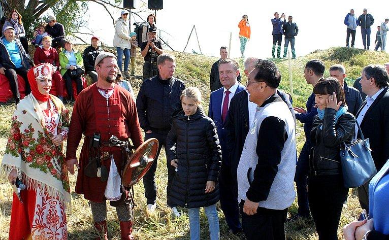 Сергей Рябухин посетил село Арское