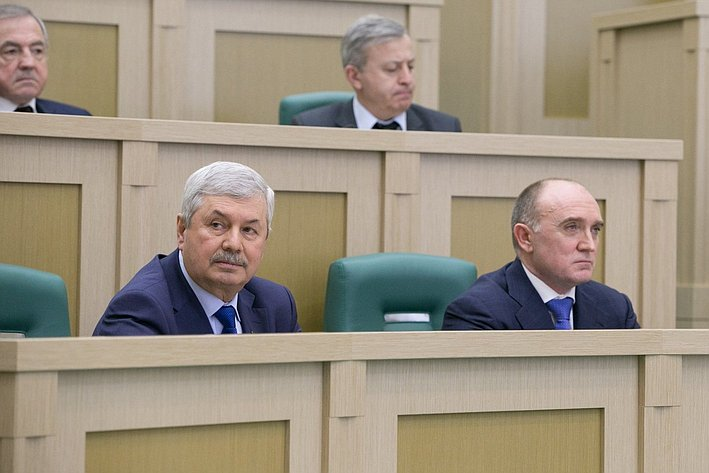На385-м заседании Совета Федерации