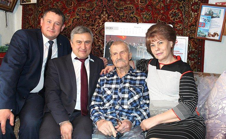 Татьяна Гигель встретилась светераном Великой Отечественной войны