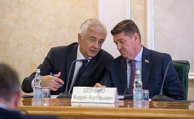 Алексей Мачнев иАндрей Шевченко