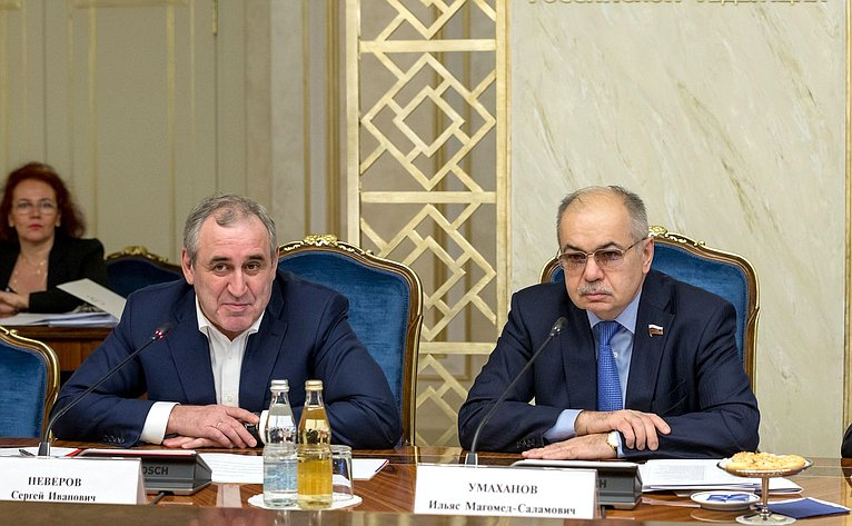 Сергей Неверов иИльяс Умаханов