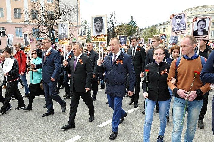 Константин Косачев принял участие вмероприятиях, посвященных празднованию 73-й годовщины Победы вВеликой Отечественной войне