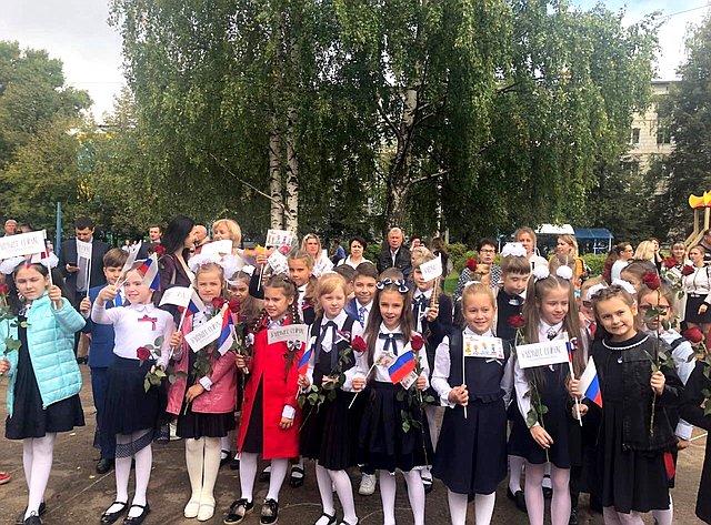 Николай Журавлев посетил Караваевскую среднюю школу