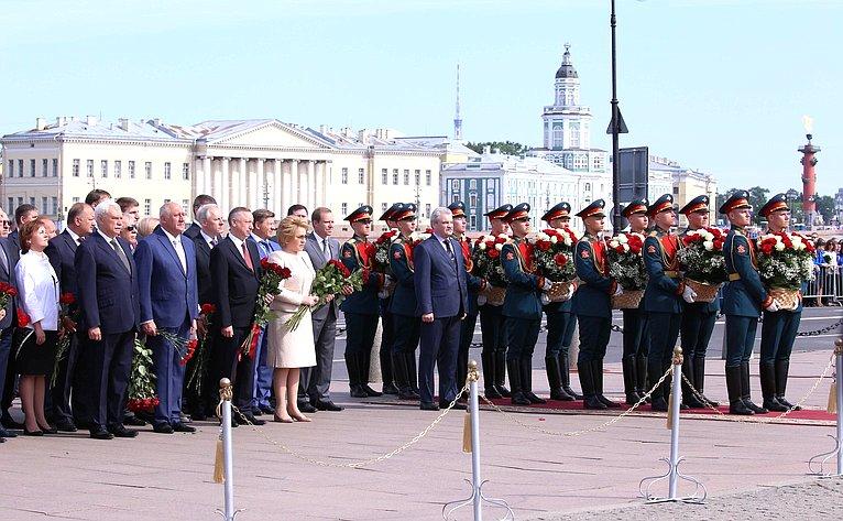 Мероприятия, посвященные 315-летию содня основания Санкт-Петербурга