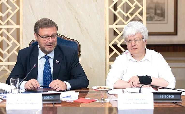 Константин Косачев иОльга Тимофеева