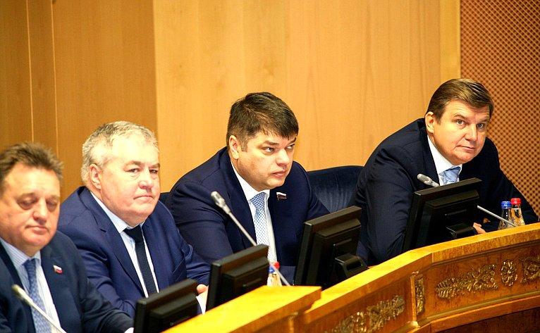 Дмитрий Василенко принял участие взаседании регионального парламента