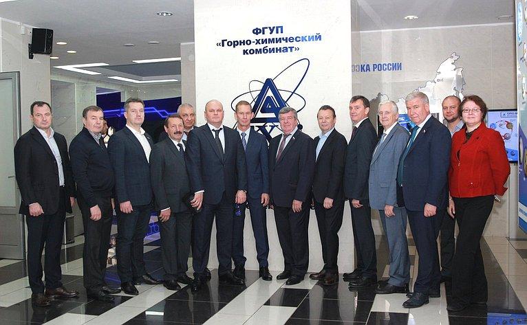 Валерий Семенов посетил ряд объектов предприятий Государственной корпорации «Росатом»