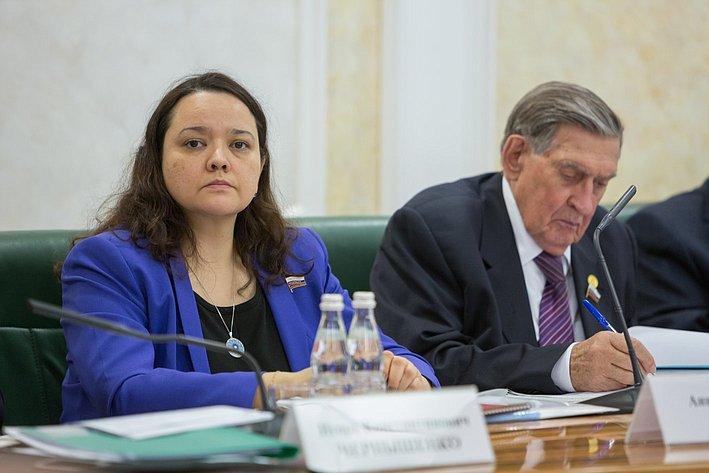 А. Отке Заседание Экспертного совета по Арктике и Антарктике при Совете Федерации