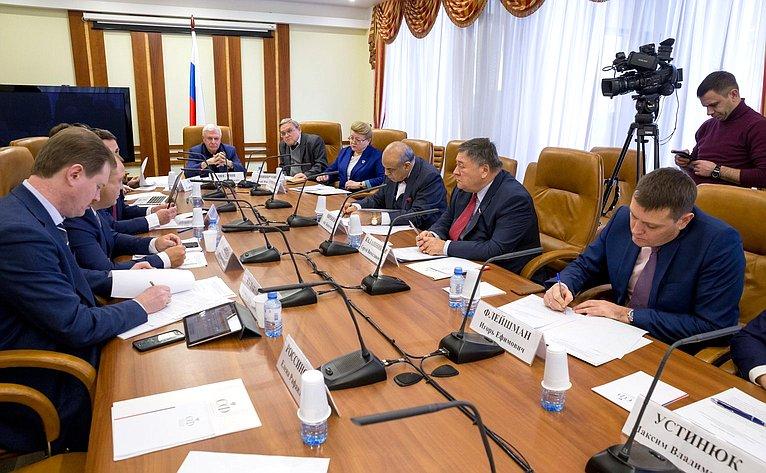 «Круглый стол» пообсуждению законопроекта, уточняющего порядок проведения судебных экспертиз