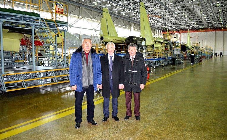 Баир Жамсуев иВиктор Озеров посетили крупнейшие предприятия ОПК Хабаровского края