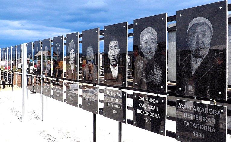Тосовцы возвели Аллею Славы— памяти погибших нафронте жителей Кижингинского района, ушедших назащиту страны отфашизма
